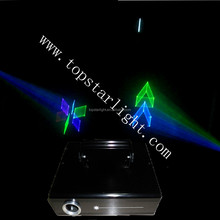 night club lighting small housing 300mw~700mw 3D Laser/high quality laser show /cheap laser lights for sale