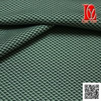 interlock jacquard fabric with finished wicking
