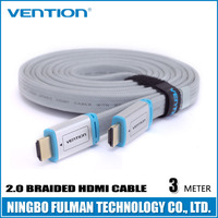 Vention 4k braided flat cable hdmi to lvds