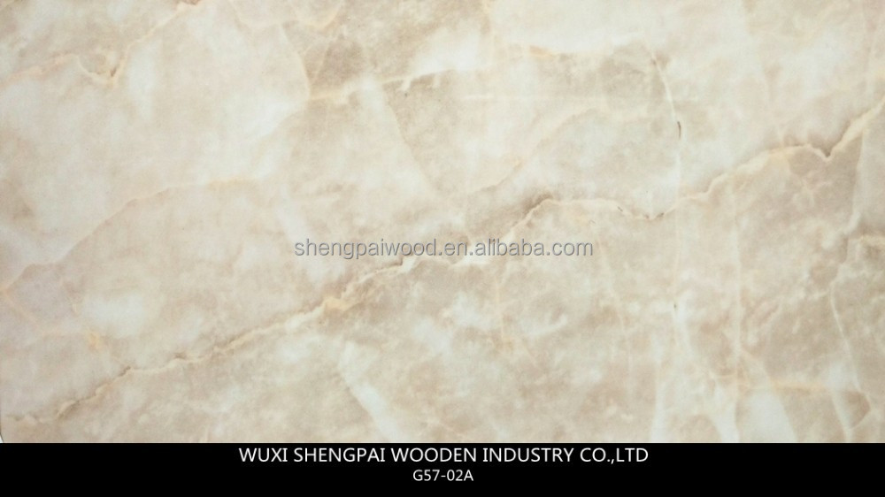 Factory Price Commercial Faux Marble Panel for Wall Decor, Bathroom,Backgroud of TV,Floor,Kitchen, Furniture