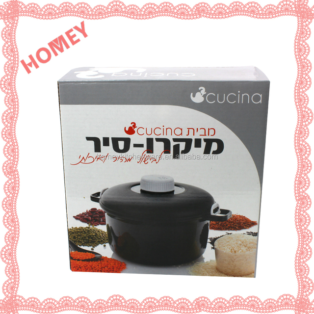 Amazing Microwave Rice Cooker Steam Pot Pasta Chicken Fish Beans and much more