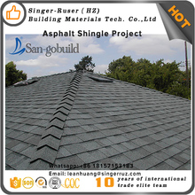 Commercial Luxury double asphalt shingles GAF standard color roof shingles price