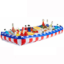 Inflatable Salad Bar Serving Buffet and Food Drink Cooler for Picnics&Party