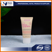 Best body lotion small plastic tube for cosmetics packaging