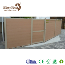 Guangzhou Durable WPC wood composite home plastic garden fencing