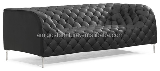 High end wooden l shaped sofa sets from Foshan furniture factory