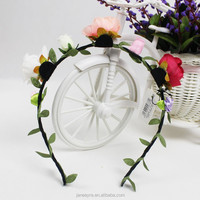 New Coming Decorative Artificial Flowers Head Wreaths