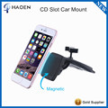 CD Slot Magnet Car Mount, Universal Cell Phone Holder with Three Side Grips for iPhone
