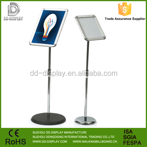 Popular Metal pop Wholesale a3 poster display stand