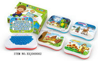 Best quality top sell toy laptop pad for arabic language