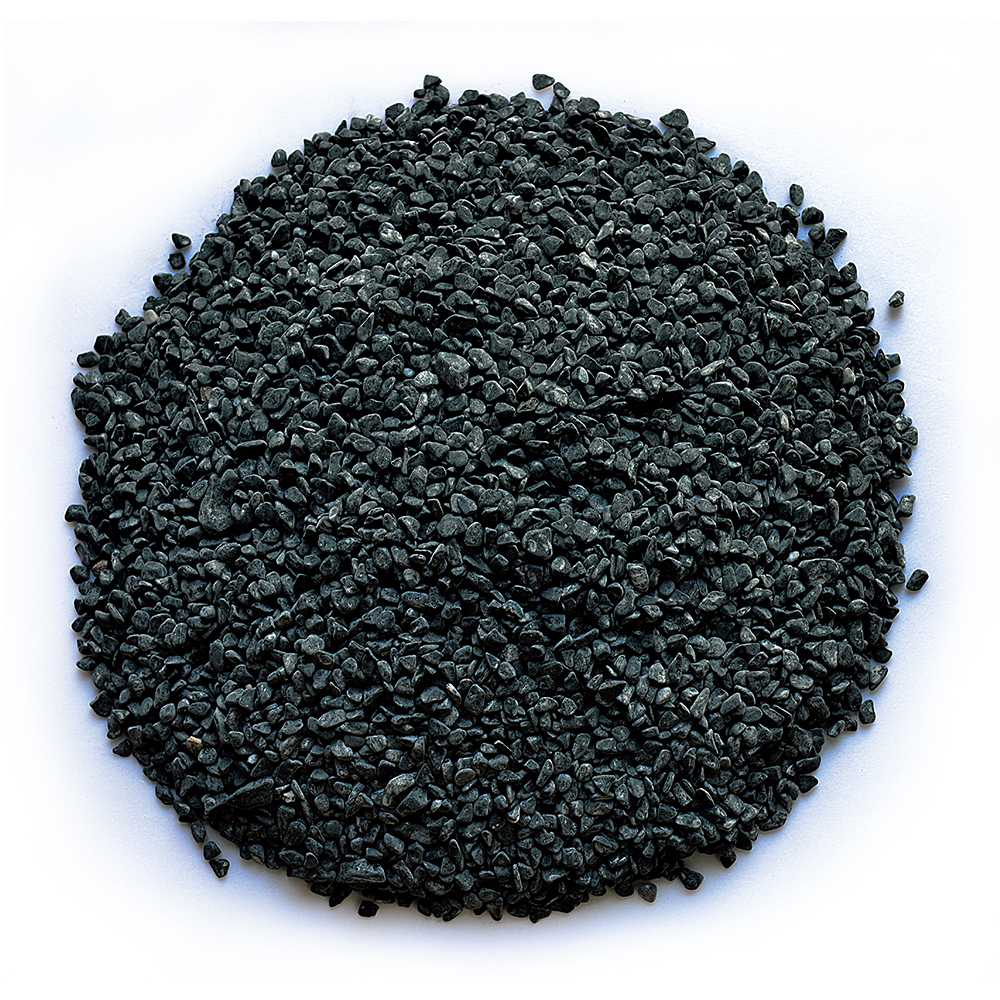 HS-PE15 garden black color decorate sand gravel stone