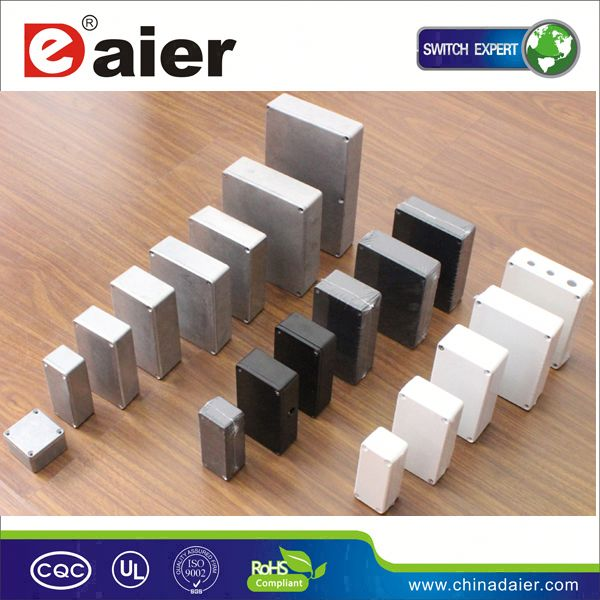 DAIER anodized aluminum profile extrusion heat sinks