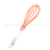 Color custom balloon silicone whisk Set, silicone egg beater for cake baking
