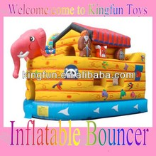 Giant Noah's Ark inflatable bouncer 2013