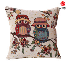 Wholesale custom designs high quality digital printed decorative durable sofa back cushion covers