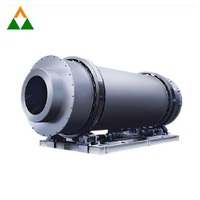 Coal Fly Ash Hzg Series Suction Drum Dryer For Rare Earth Iron Ore Fines Coal