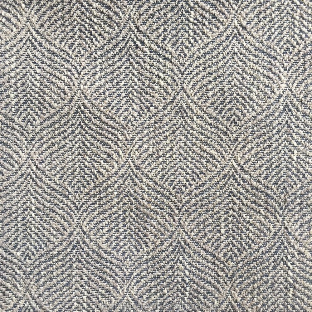 Hot sale100%poly jacquard fabric linen fabric use for sofa upholstery fabric,home textile