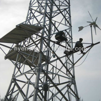 Wind power system for G.S.M. Tower telecom tower telecommunication tower