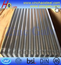 ASTM A653 CS type B corrugated galvanized steel sheet