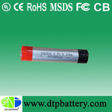 DTP rechargeable 3.7v lipo battery for Electric Pen