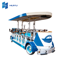 Huiyu Electric sightseeing tourist car shuttle bus