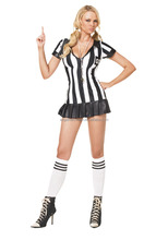 Halloween party supplies costume new arrival referee uniform for women AGC427