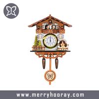 MDF wood clock kit designer wall clocks for home decoration