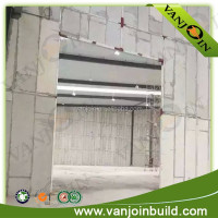 Eco friendly asbestos free wall board insulated concrete forms