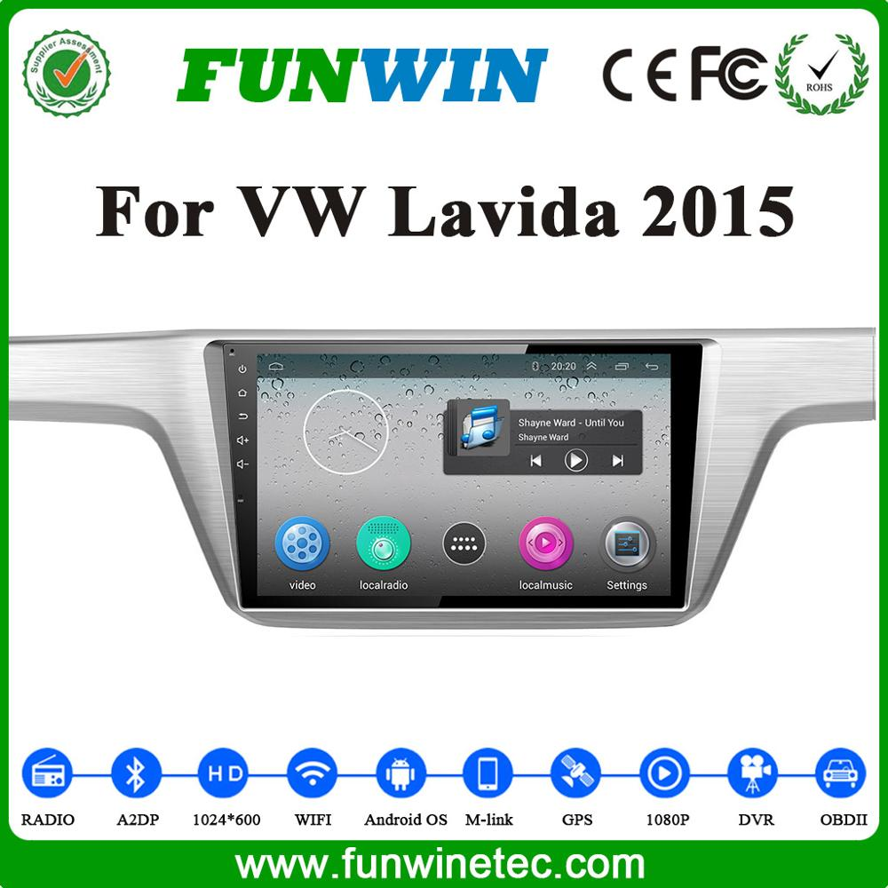 2016 factory price car dvd gps player for For VW Lavida 2015 buiitin 3g wifi car stereo double din car radio auto audio video