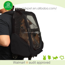 Hands-free sling carrier soft tote travel pet bag