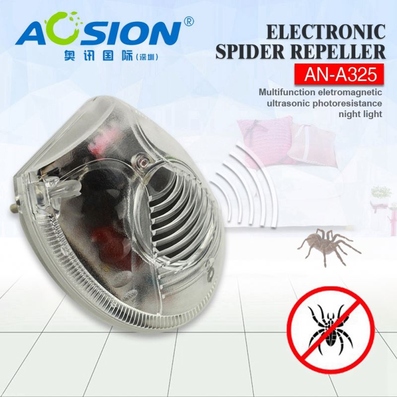 Aosion sample welcomed 200sqm range effective anti spider device for spiders,fleas,bugs,roaches