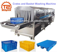 Automatic Plastic Basket Washing Machine/Plast Crates Washer Cleaner