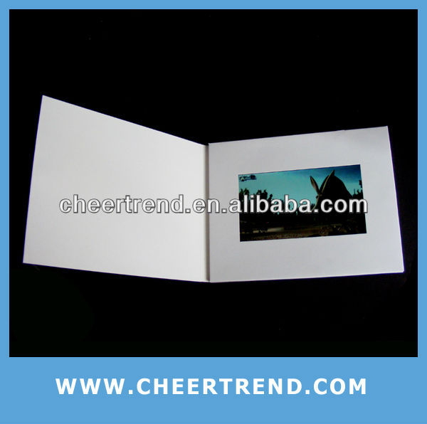 (video greeting card) Hot New products for 2013