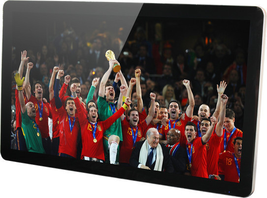 Easy-to-install lcd digital signage advertising board