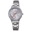 Good Quality Life Waterproof Jpan Movt Quartz Stainless Steel Strap Lady Diamond Watches