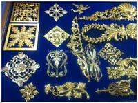 carved wood molding/crown wood mouldings/furniture use decor resin flower