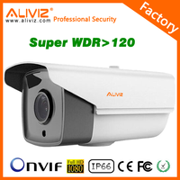 H.265 security camera with monitor Super WDR new module 2MP HD1080P day and night ip camera
