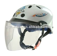 summer use safe visor abs material half face OEM scooter helmet for motorcycle
