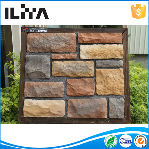 fake stone ,landscaping slate rock for house