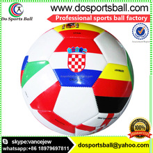 2018 world up multiple countries flag design pvc machine stitched official size soccer ball,football