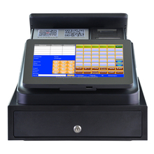 "12"" all in one touch screen Point of sale/ POS system/POS terminal/POS machine/pos hardware with software,printer,cash box"
