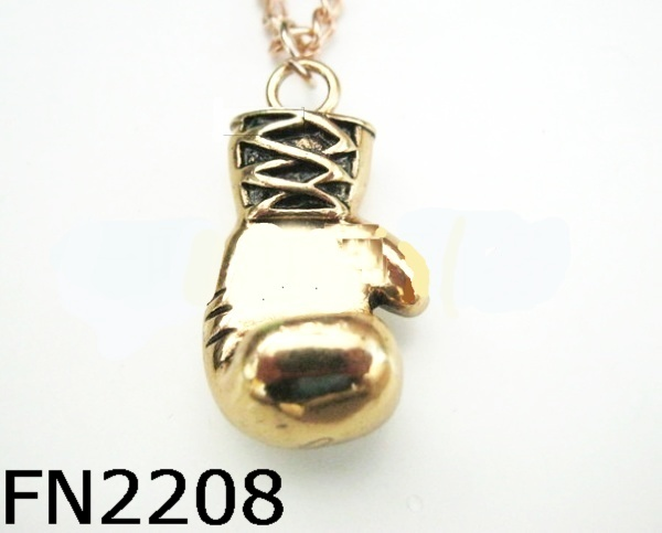 fashion jewelry accessories boxing glove pendant boxing gloves necklace pendant FN2208