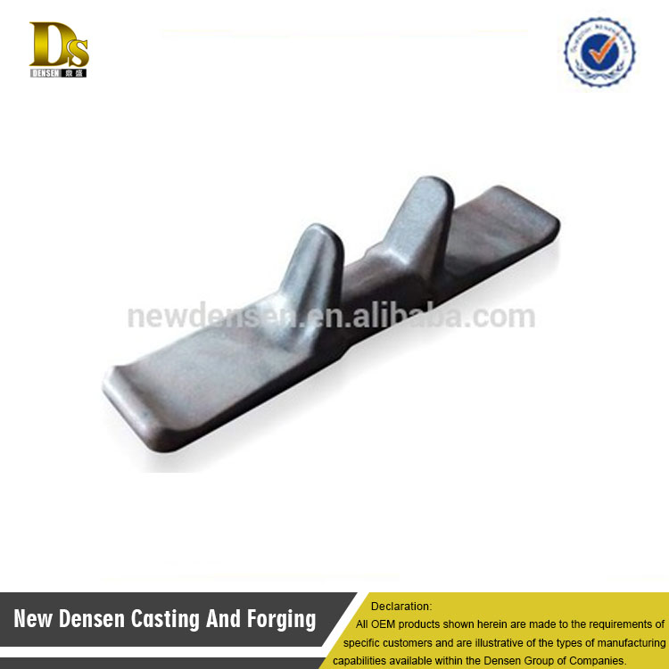 China shenyang customized die forging iron core for rubber tracks