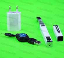 White ego-t pen mystic box electronic cigarette