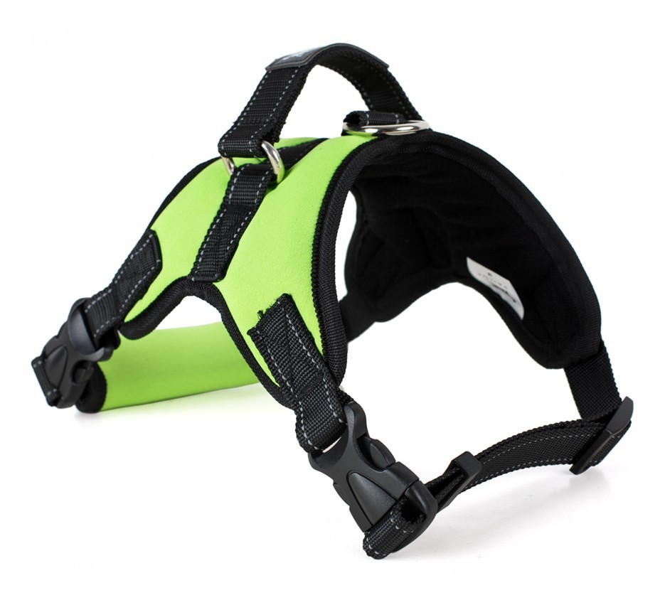 100% Polyester  fabric different size stretched collar dog harnesses strap Pet Collars & Leashes