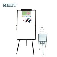 Office Whiteboard Easel with Metal Stand, Display Easel