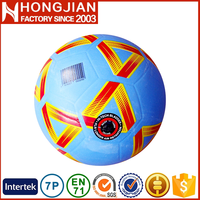 HS026 2016 wholesale football soccer ball size5/4/3/2/1#rubber soccer ball