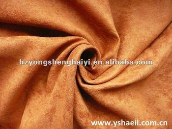 100% Suede Fabric for Bus Seat Fabric/Upholstery Fabric
