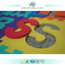 100kg/m3 high density Horizon EVA baby jigsaw learning alphabet foam mat