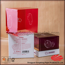 Cupcake Packaging Box, Paper Cupcake Box With PVC Window